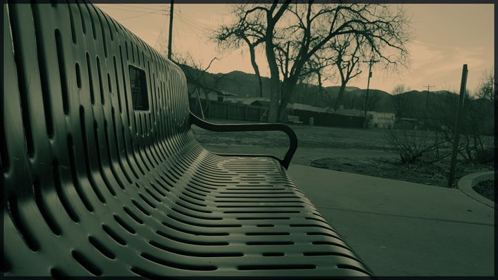 Park Bench - Creations of a Seeker of Signs