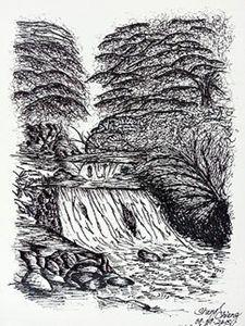 Lambir Hills Waterfall