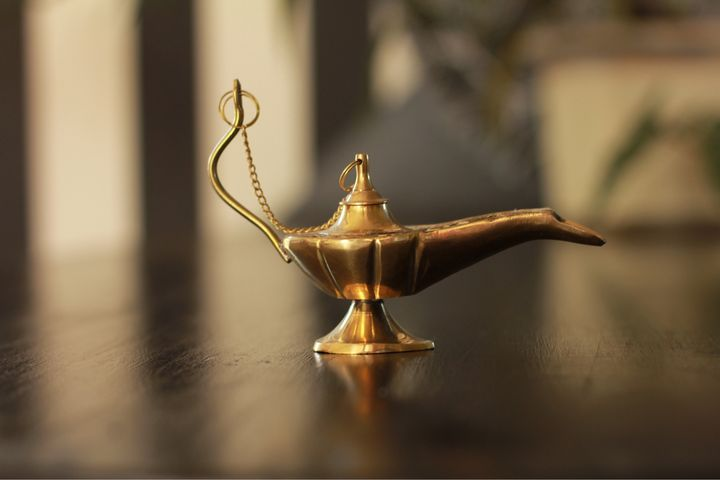 Lampe d Aladin - Inessa