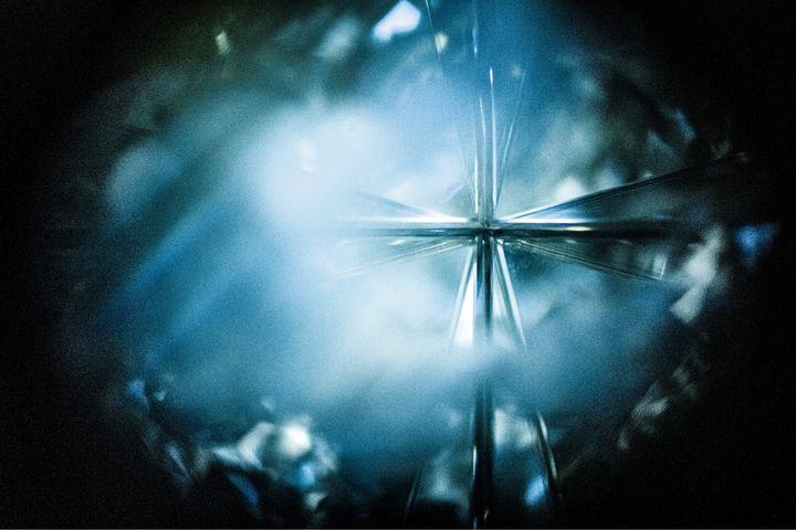 Cristal bleu - Inessa