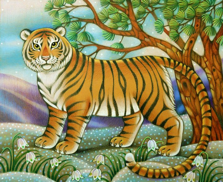 The tiger - Inessa