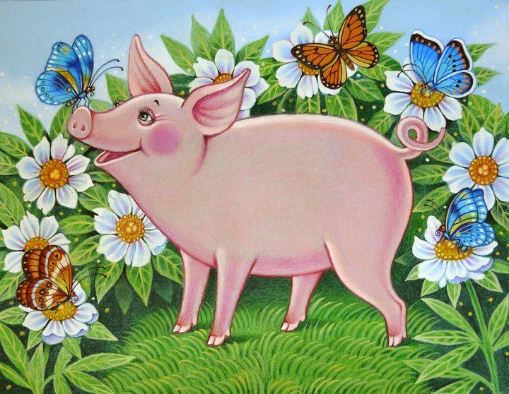 The pig - Inessa