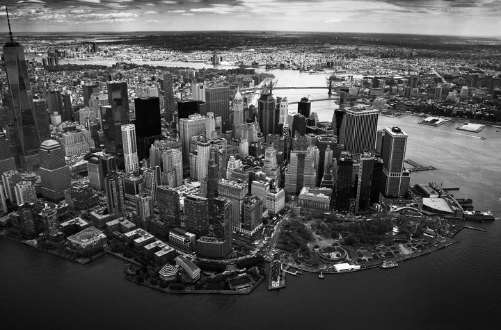 Sky view of New York - Olivier Arquès Photography