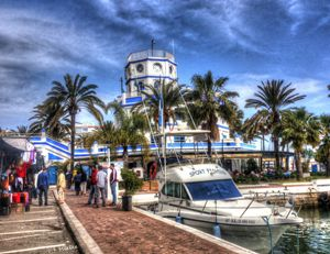 Port Of Estepona HDR