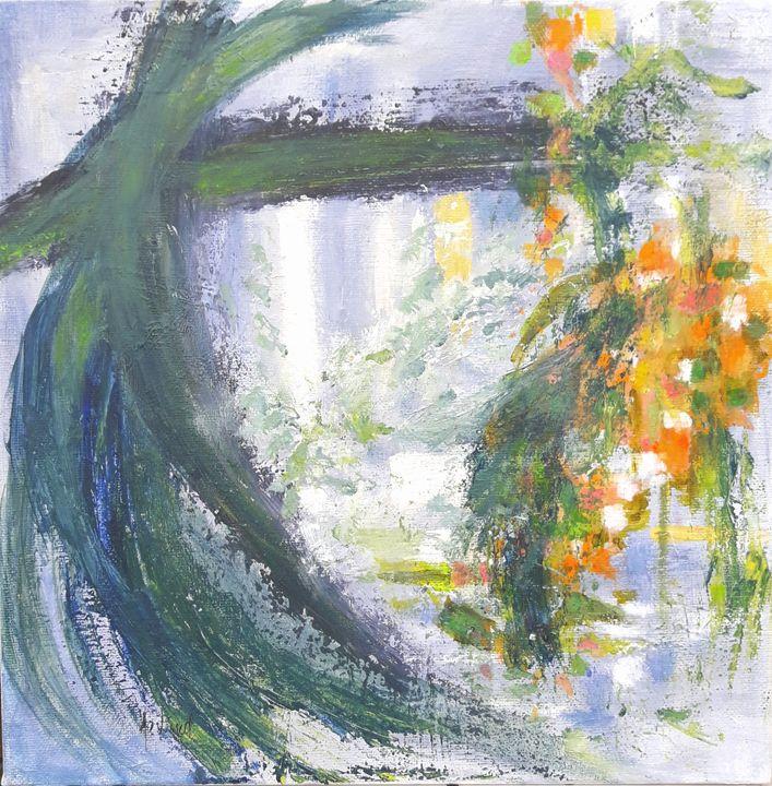 Green Sanctuary - Aase Lind Art