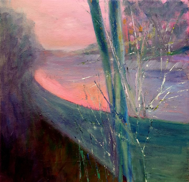 SUNSET by Aase Lind - Aase Lind Art
