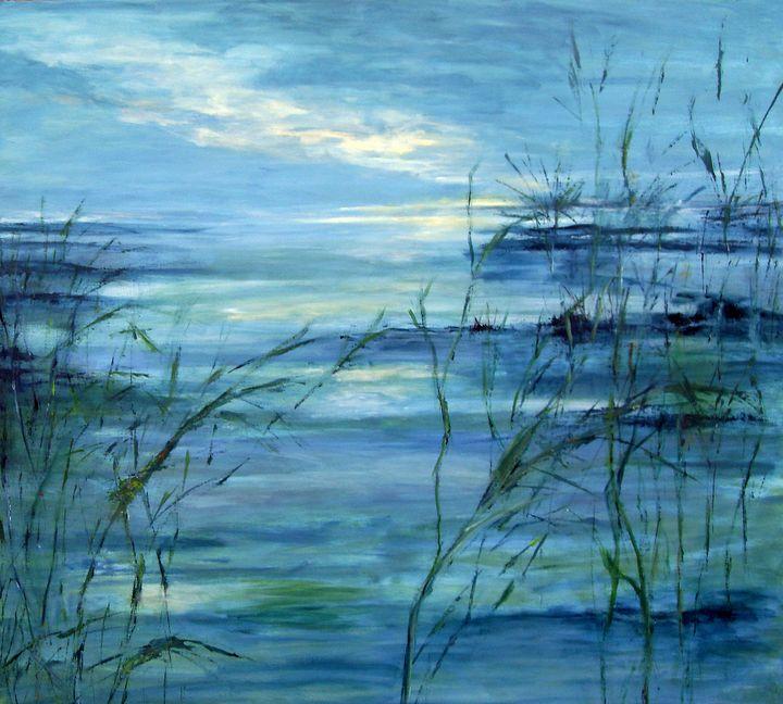 Marsh Land II - Aase Lind Art