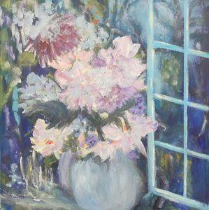 'Flowers in  the Window'
