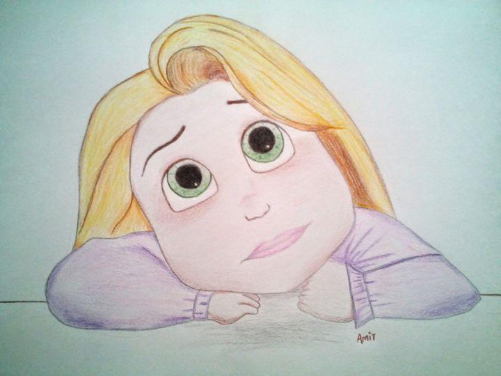 Baby Rapunzel! - amitmerchant