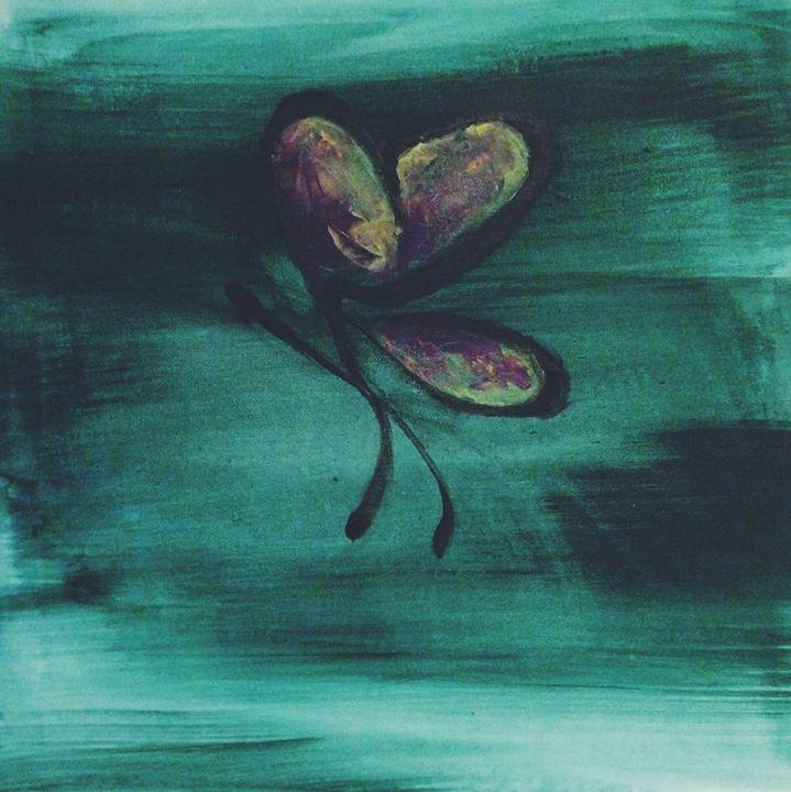 Butterfly away - Felicia Holmes Artwork