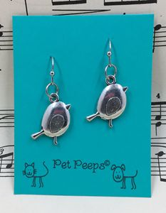 Bird Dangle Earrings