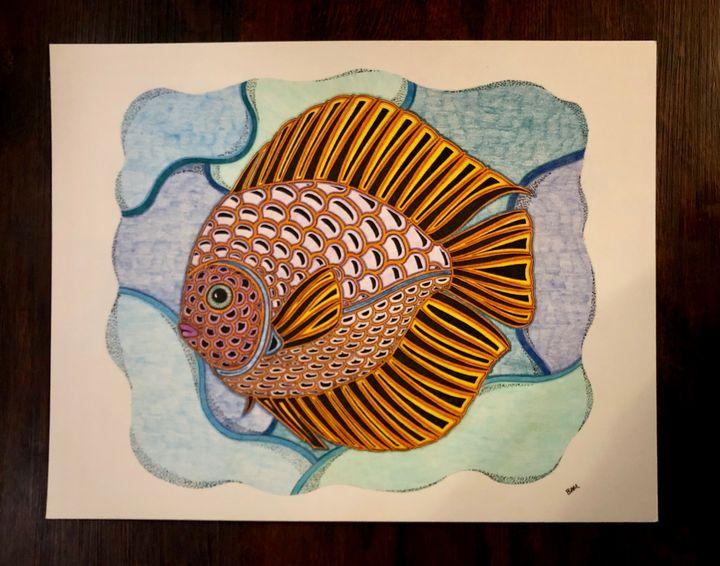 Discus Fish - Bryan Montgomery