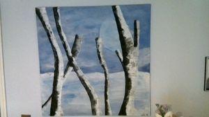 Iced birch
