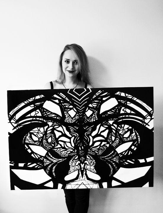 Black & White dream - The Stepmother's art