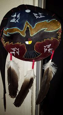 The crow shield - Ikce wicasa