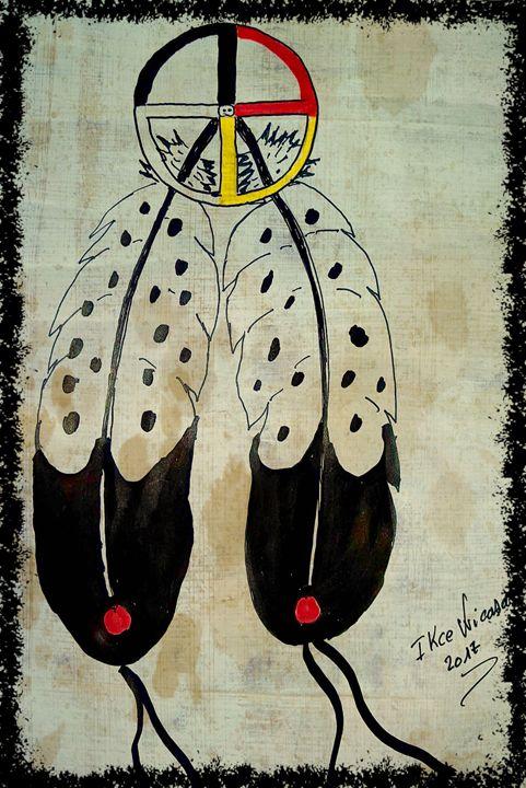 The medicine wheel - Ikce wicasa
