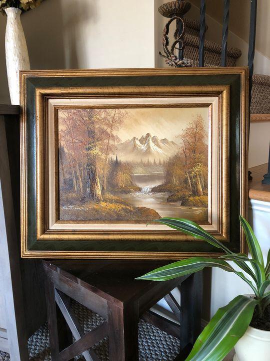 Artistic interiors inc oil painting - Jenan