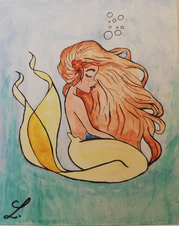 The soothed siren - Laeryss