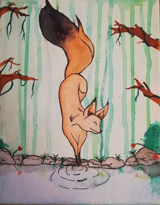 Peaceful fox - Laeryss