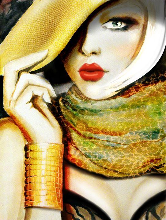 Fashionista - Art of Emese Simon