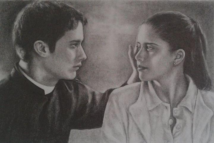 El crimen del padre Amaro - Ebba Portraits & Drawings