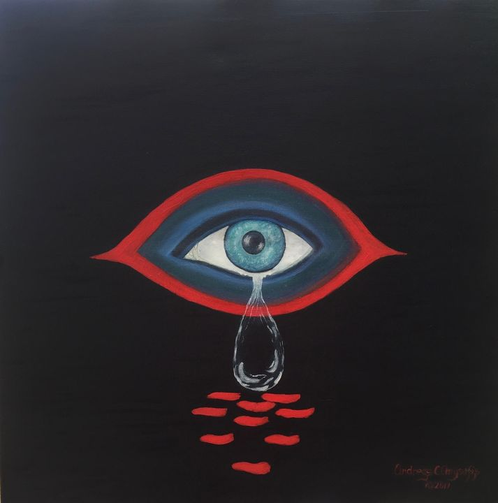 EYE on BLACK - Andreas C Chrysafis Art