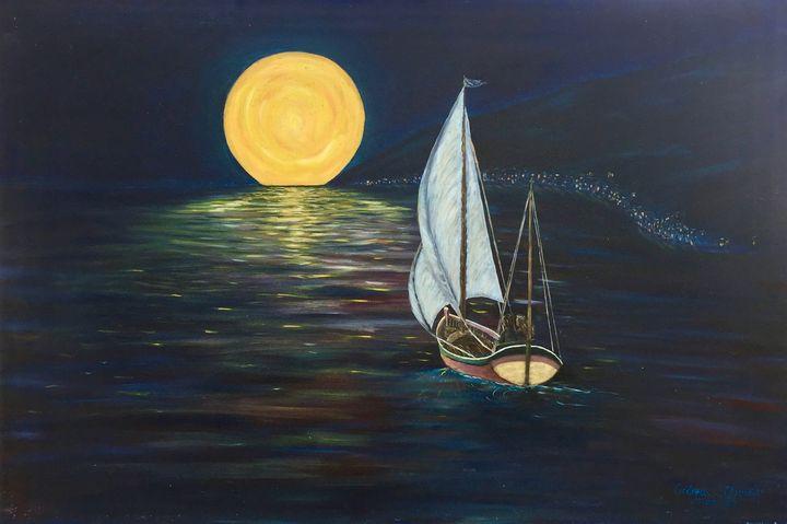 MOONLIGHT - Andreas C Chrysafis Art