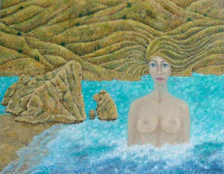APHRODITE URANIA - Andreas C Chrysafis Art