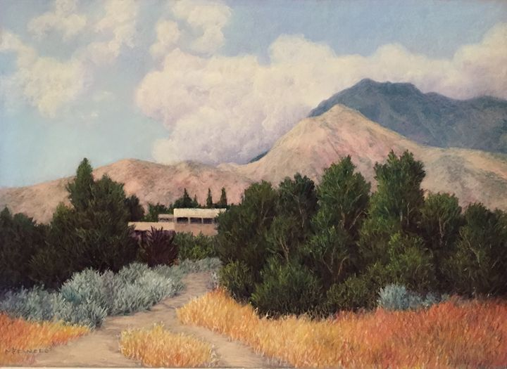 Living in the Sandia Foothills - True Color Creations