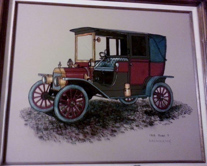 Carrington Collection 1910 Model T - Nicolo Sturiano Carrington Collection