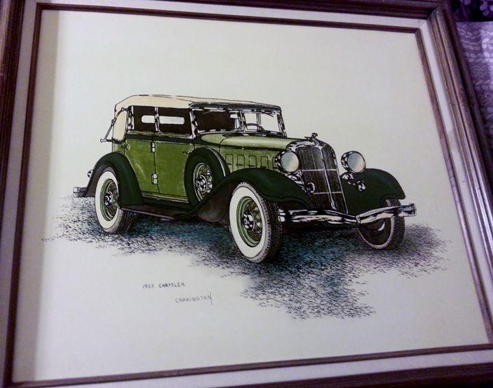 Carrington Collection 1933 Chrysler - Nicolo Sturiano Carrington Collection