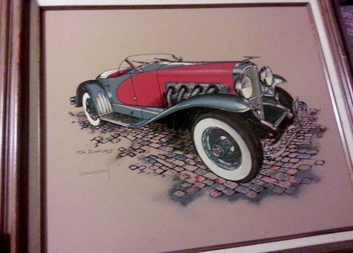 Carrington Collection 1936 Dusenberg - Nicolo Sturiano Carrington Collection