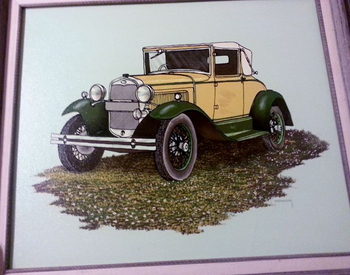 Carrington Col. 1930 Ford Model A - Nicolo Sturiano Carrington Collection