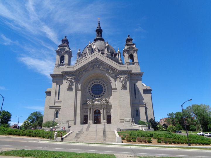 Catholic Cathedral In St. Paul, MN - Achilles Rane Saphir