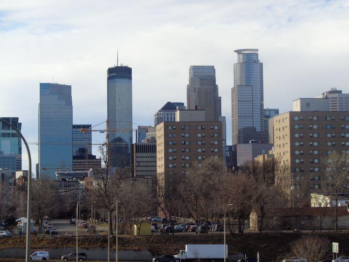 Minneapolis City Scape & Sky Lien - Achilles Rane Saphir