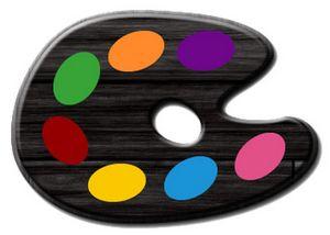 Black Painters Palette