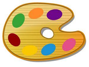 Brown Painters Palette