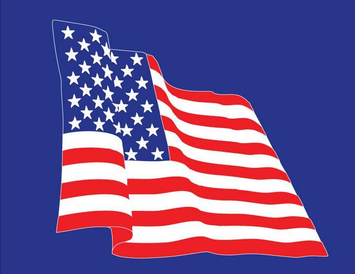 American Flag - Achilles Rane Saphir