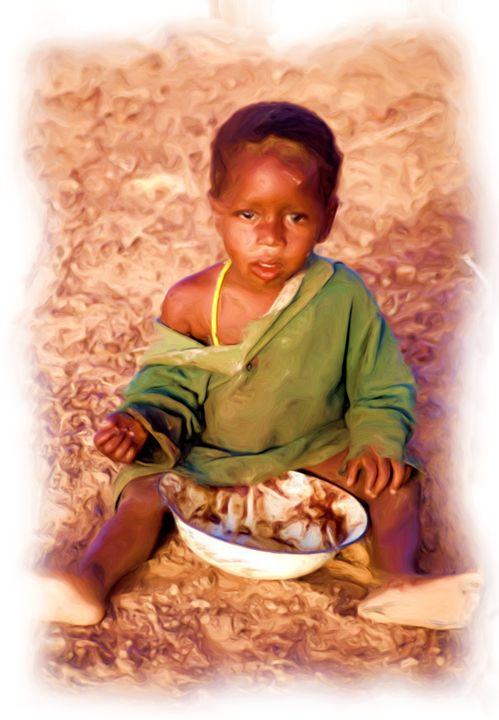 Dinner is Done - African Art Images