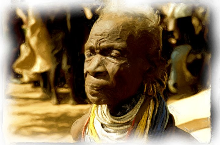 Masai Moment - African Art Images