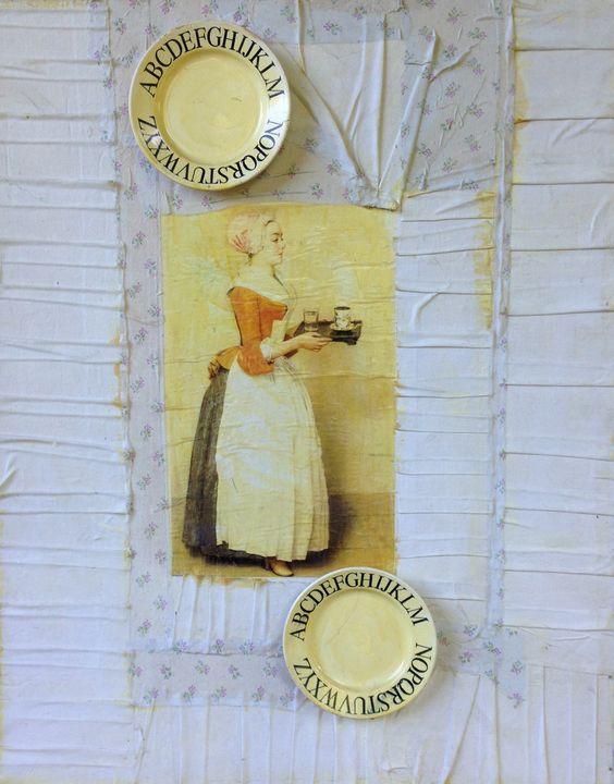 "M.Iashvili ""Dedication to Vermeer"" - Binovska Gallery"