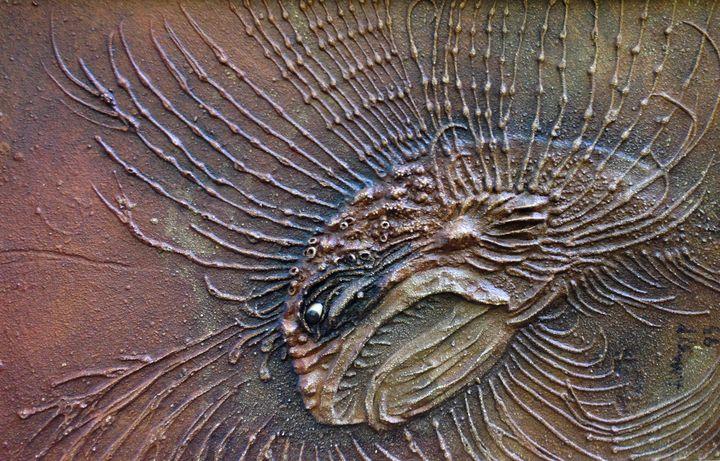 """Alexey Mazur """"Fossil 1"""" - Binovska Gallery"""