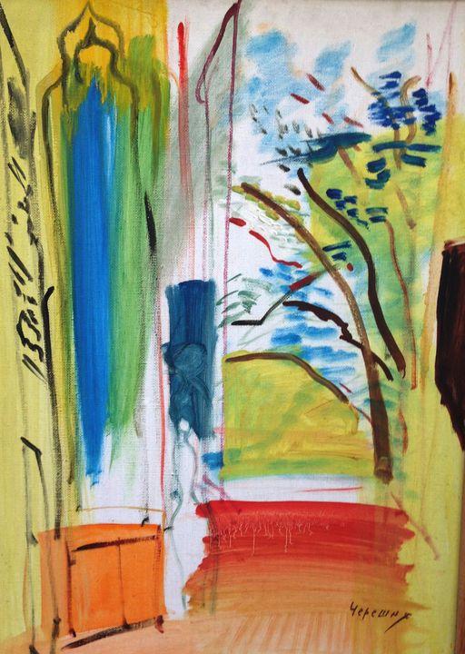 """Samuil Chereshnya """"Interior"""" - Binovska Gallery"""