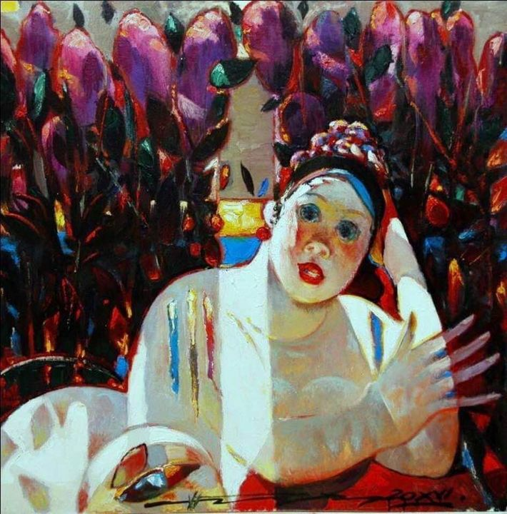 "N.Prokopenko ""Purple Sun"" - Binovska Gallery"