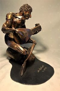 Renaissance Man - Original Metal Sculptures by Gary