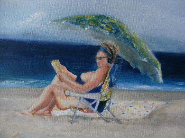 Beach babe 3 - Academy of Fine Art & Studio