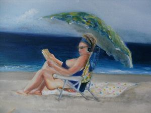 Beach babe 3