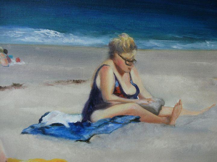 Beach Babe 2 - Academy of Fine Art & Studio