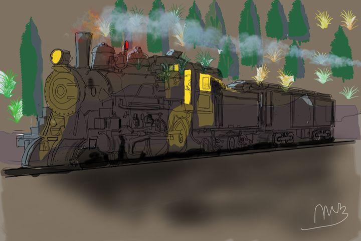 Ghost Train - Michael Bartlett