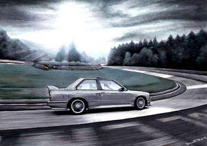 BMW M3 CAR RIDING FAMOUS TRACK - Łukasz Jan Drygiel